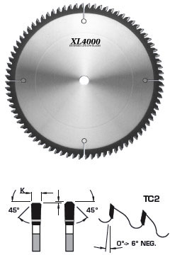 Fs tool ss1250 solid surface saw blade tc2 xl4000 10 for Surell solid surface